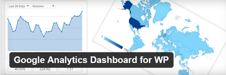 Google Analytics Dashboard for WP free Most Popular WordPress Plugins