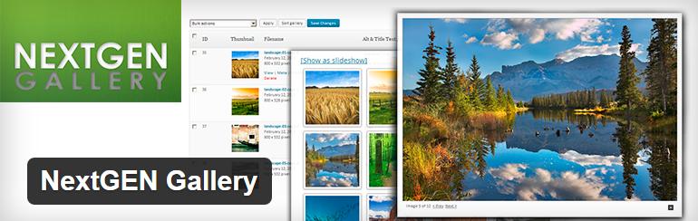 NextGEN Gallery free Most Popular WordPress Plugins