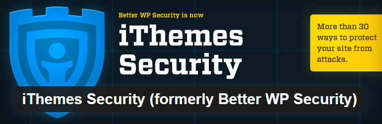iThemes Securityfree  Most Popular Free WordPress Plugins