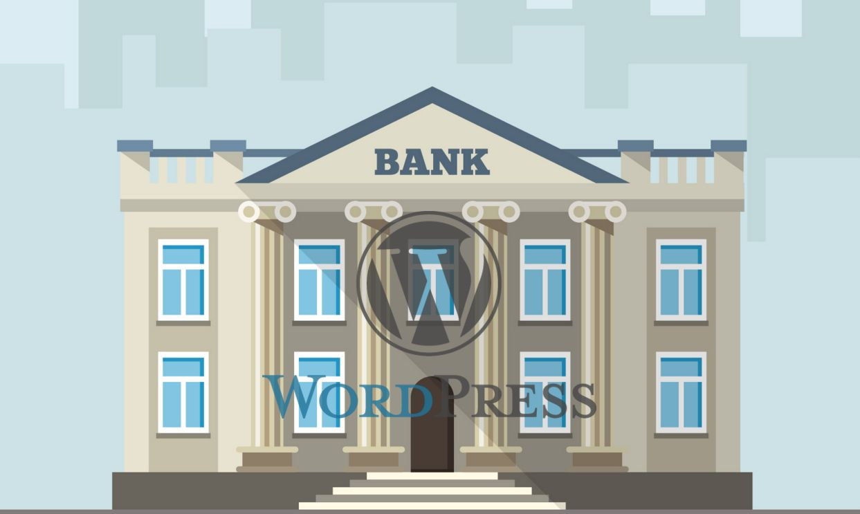 Build Bank Website With WordPress