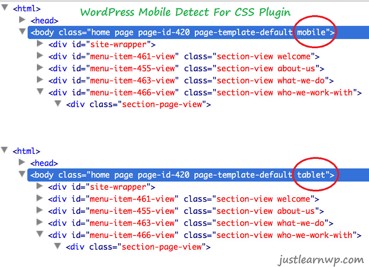 Mobile Detect For CSS Best WordPress mobile detection plugins