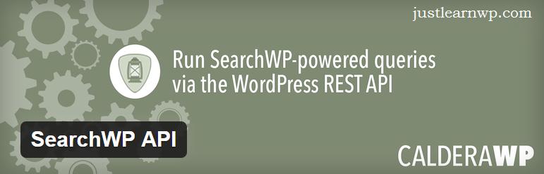 SearchWP API — WordPress Plugins WP REST API