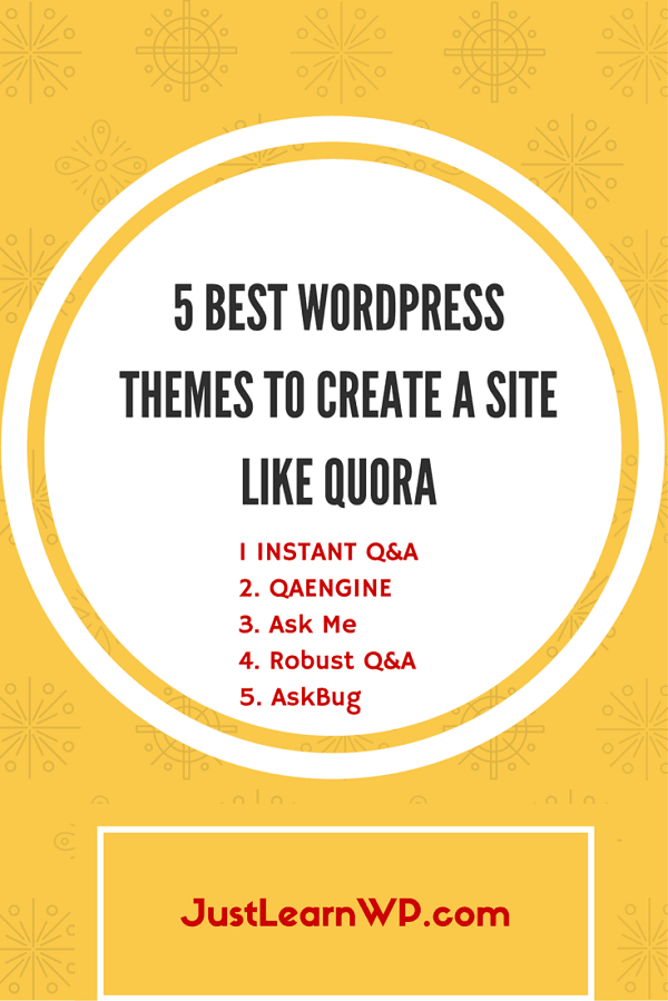 5 BEST WORDPRESS THEMES TO CREATE A SITE LIKE QUORA light