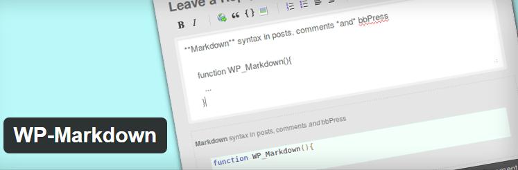 WP-Markdown-best-wordpress-markdown-plugins