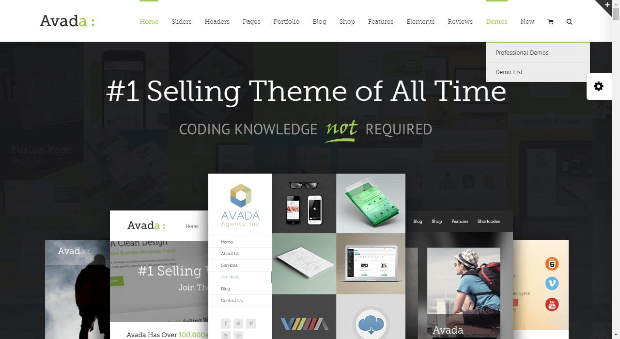 Avada Premium Responsive WordPress Themes