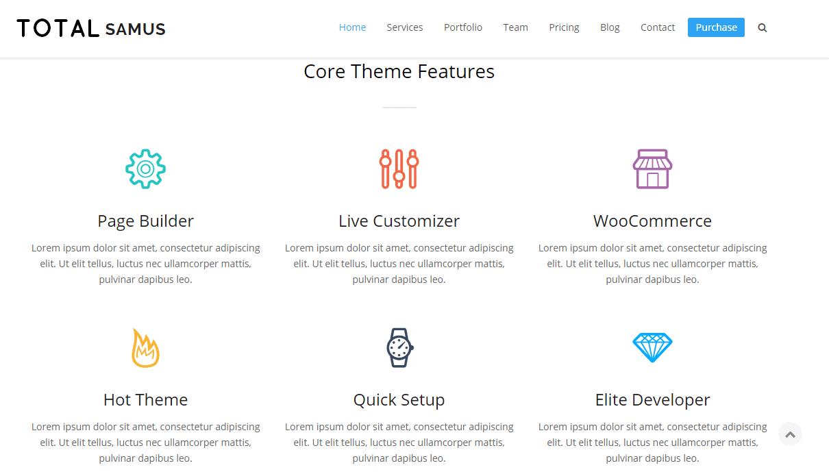 Total Theme Premium Responsive WordPress Themes