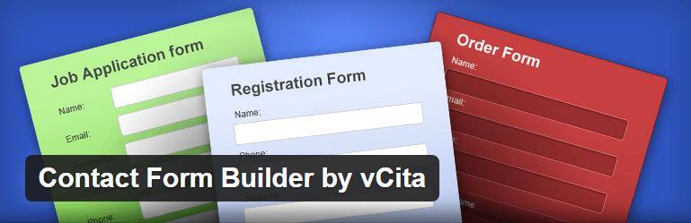 Contact Form Builder by vCita Contact Form Maker WordPress Plugins