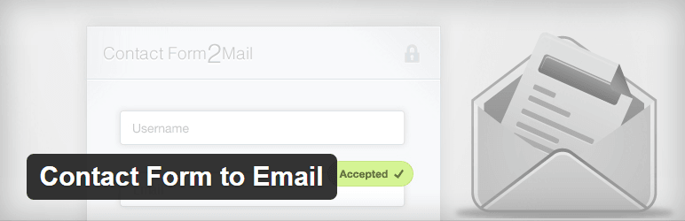 Contact-Form-to-Email Free Contact Form Plugin For WordPress