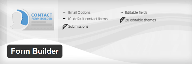 Free Contact Form Plugin For WordPress Form Builder