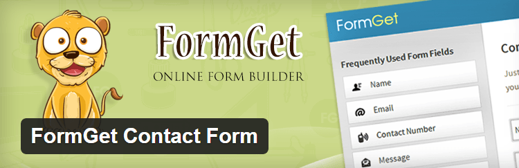 Free Contact Form Plugin For WordPress FormGet Contact Form