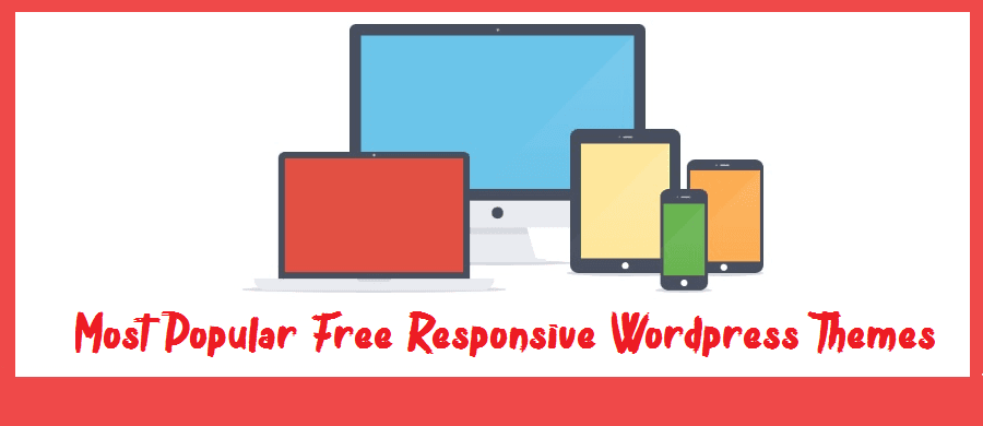 Most Popular Free Responsive Wordpress Themes