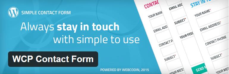 WCP Contact Form Contact Form Maker WordPress Plugins