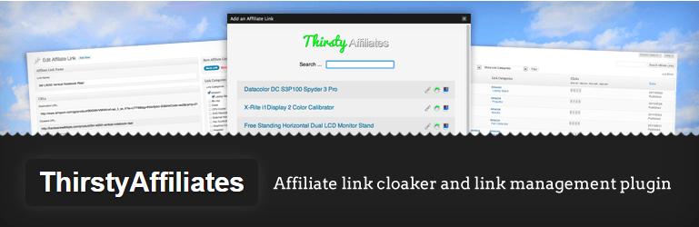 ThirstyAffiliates Cloak Affiliate Links WordPress Plugins
