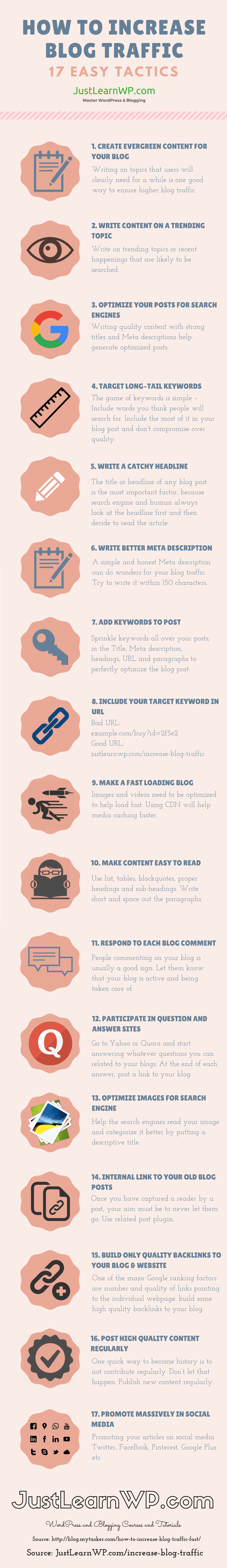 how-to-increase-blog-traffic-Infographic
