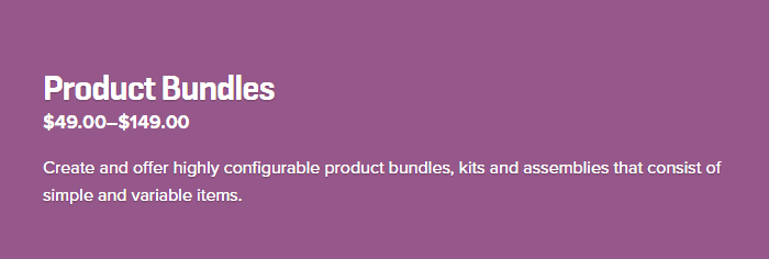 Product Bundles - Best WooCommerce Plugins