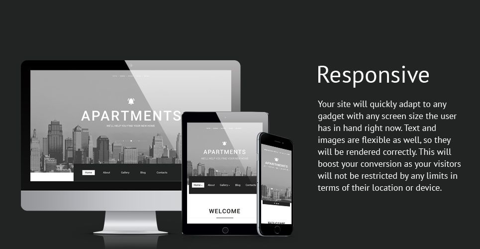 Apartments Best Real Estate WordPress Theme
