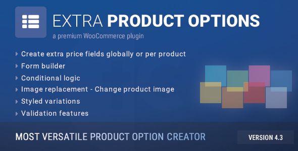WooCommerce Extra Product Options Best WooCommerce Plugin