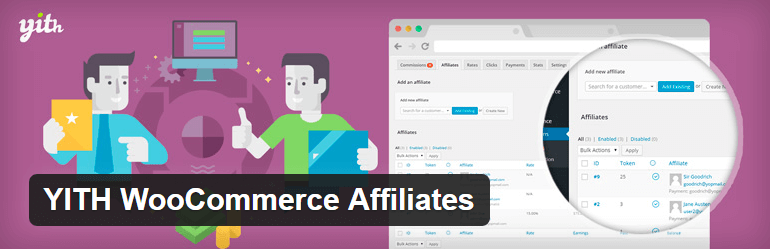 YITH-WooCommerce Affiliate Free Plugin