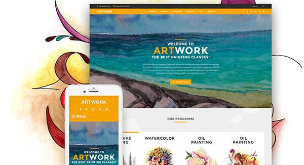 ArtWork-Responsive-WordPress-Theme