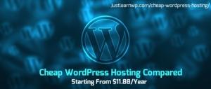 top-cheap-wordpress-hosting-compared