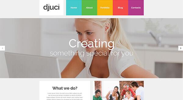 Web Design WordPress photography Theme