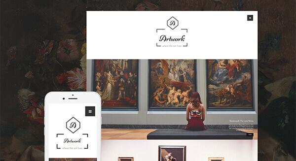 impressive-Artwork-WordPress photography Theme