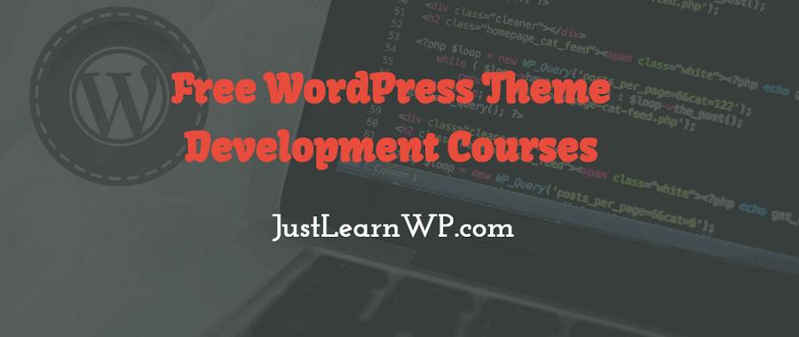 Free WordPress-Theme-Develoment-Courses-online