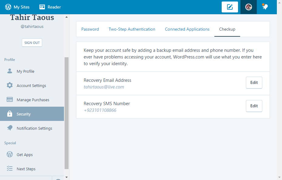 how to delete WordPress.com account
