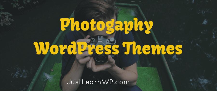 free Photogaphy WordPress Themes