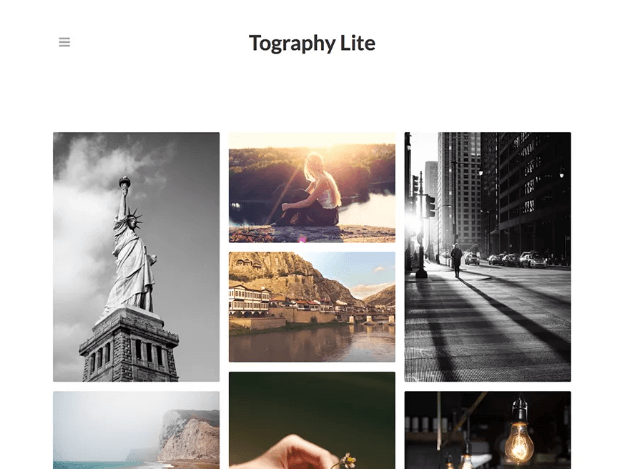 tographylite photography wordpress theme