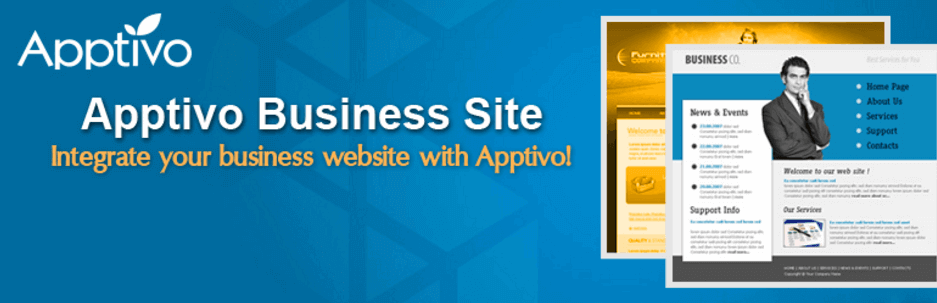 Apptivo Business Site CRM WordPress Plugins
