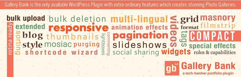 Gallery Bank – WordPress Gallery Plugin