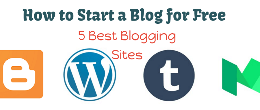 how to start a blog free - best blogging sites