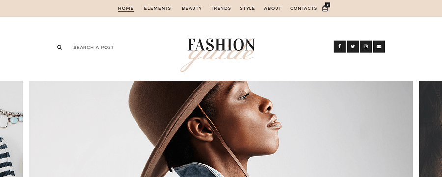 Fashion Guide Online Magazine Lifestyle Blog Preview ThemeForest