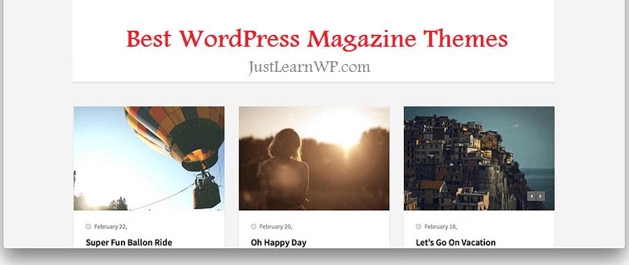 Best WordPress Magazine Themes For 2018