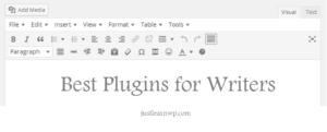 best WordPress plugins for freelance writers