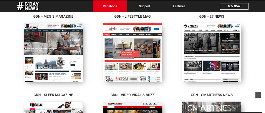 gdn WordPress magazine theme