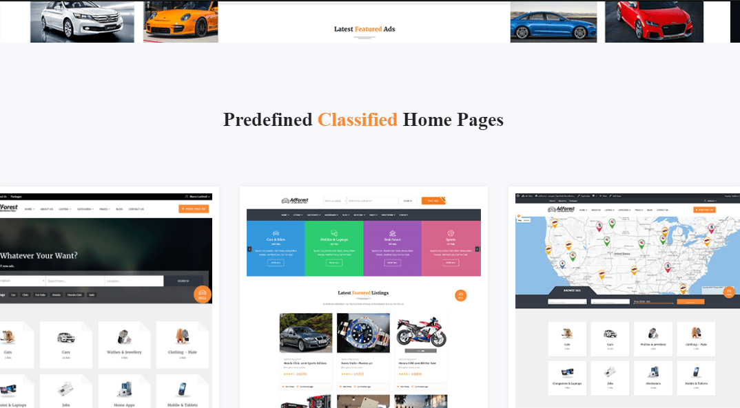 AdForest WordPress Ad Theme