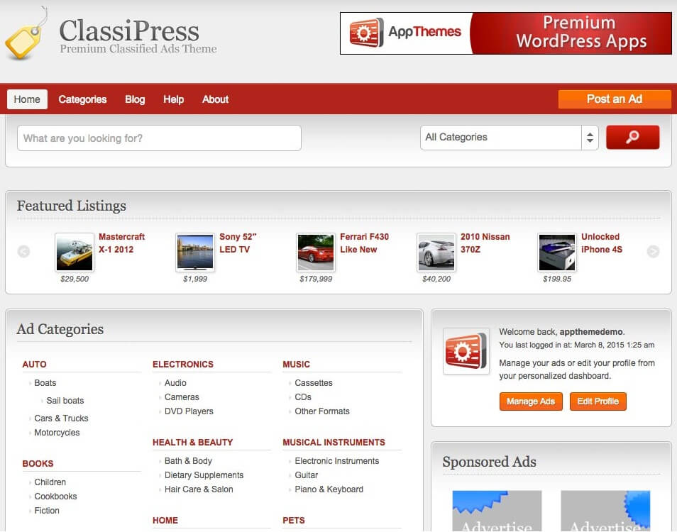 classipress-WordPress-Theme