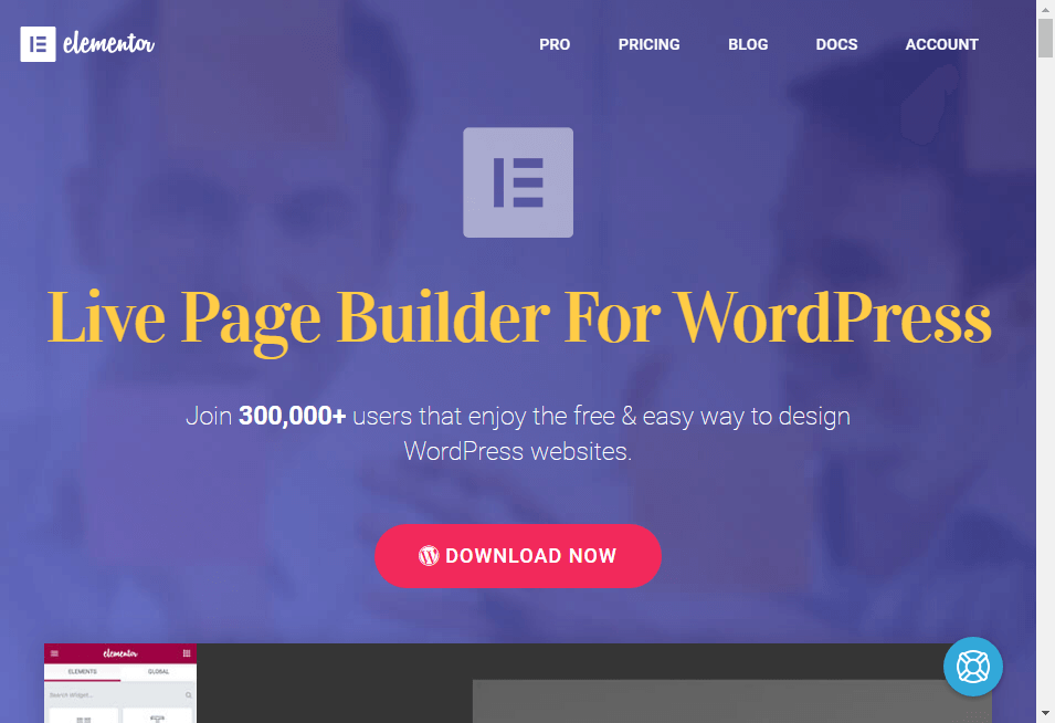 Elementor - Page Builder for WordPress