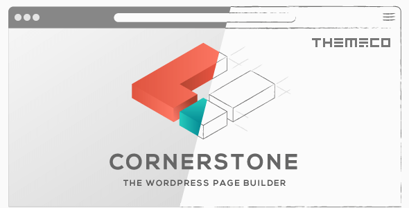 cornerstone WordPress page builder by Theme co