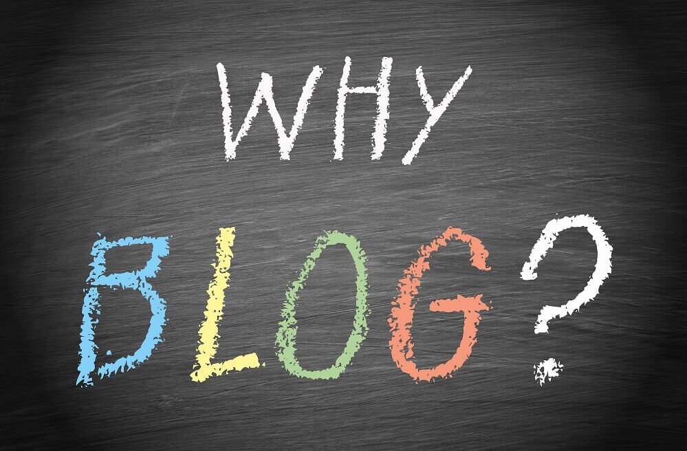 why start a blog