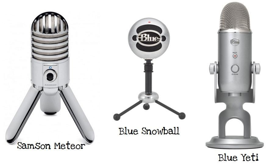Best USB Microphones 2019 - YouTube-BlueYeti SnowBall Samson Meteor