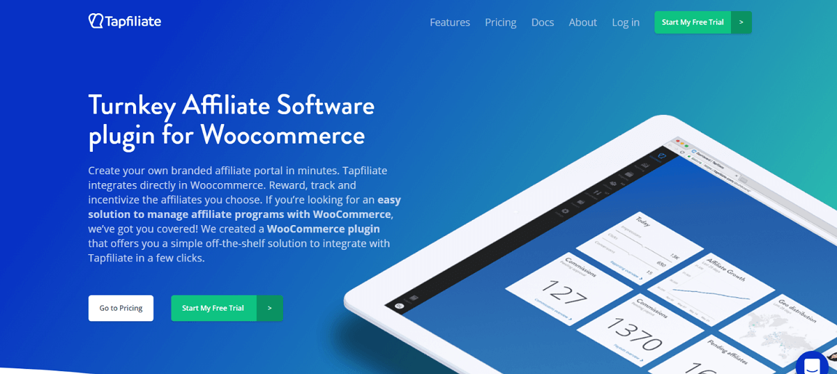 Tapfiliate - Turnkey Affiliate Software plugin for Woocommerce