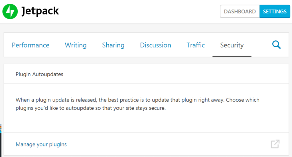 activate Jetpack plugin auto updates