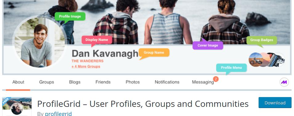 ProfileGrid – User Profiles, Groups and Communities – WordPress plugin