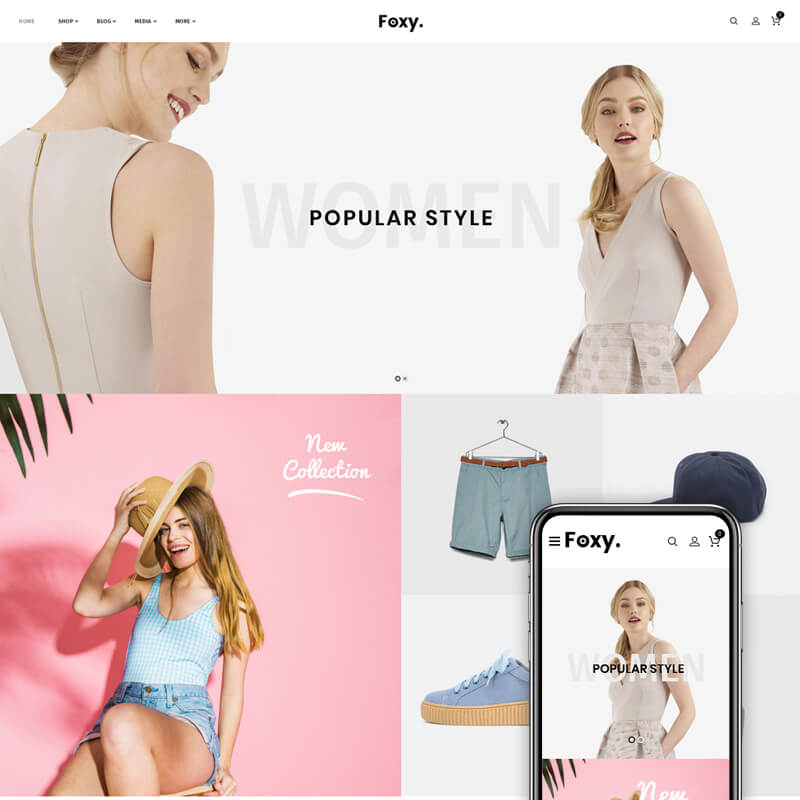 Foxy - Multipurpose Shop WooCommerce Theme