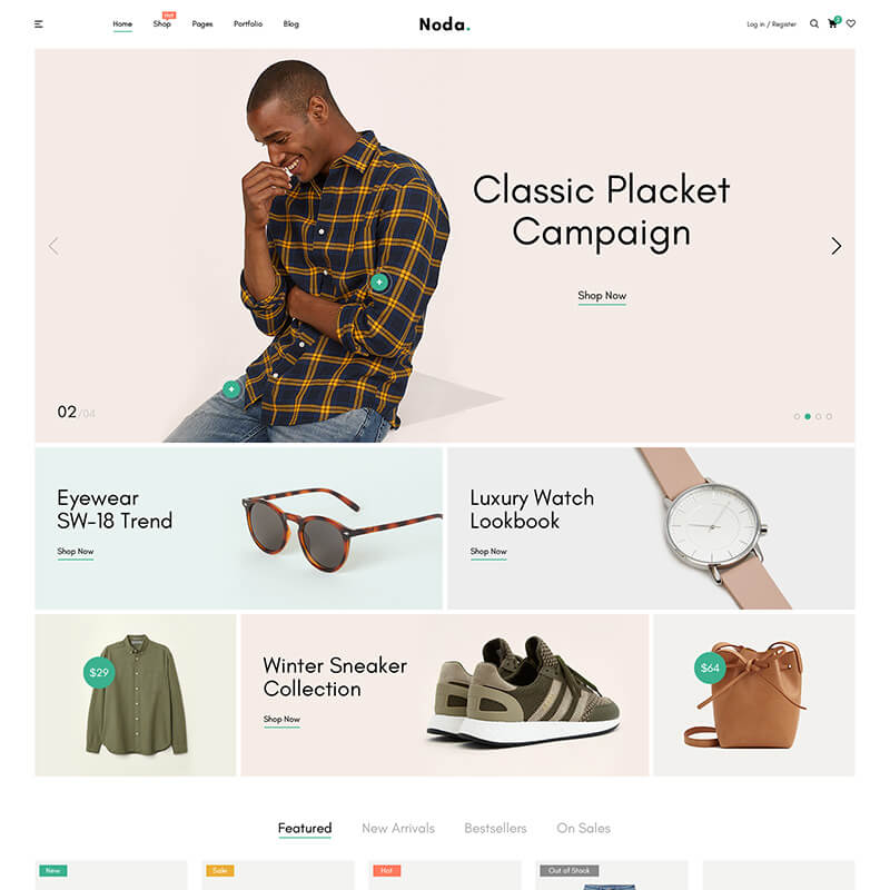 Noda - Fashion Store WooCommerce Theme