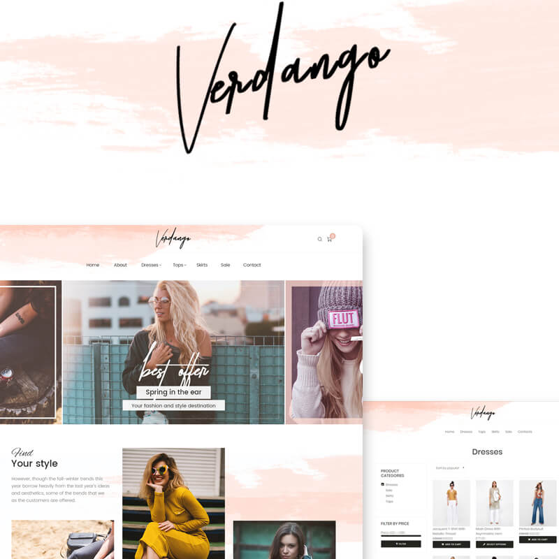 Verdango - Fashion Store Elementor WooCommerce Theme