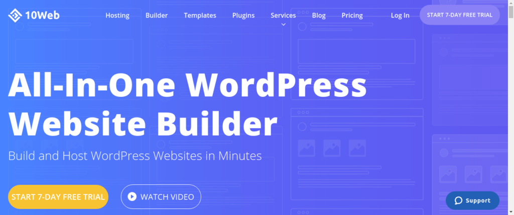 10Web review- Build & Host Your WordPress Website